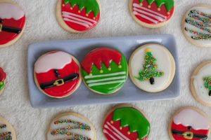 Christmas Sugar Cookies Tutorial